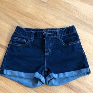 Justice dark demon jean shorts